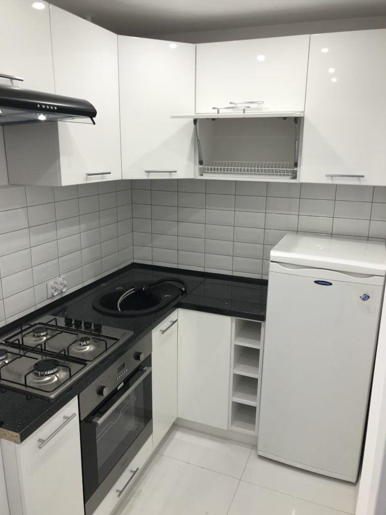 kuchnia, nowe oblicze mieszkania, kawalerka