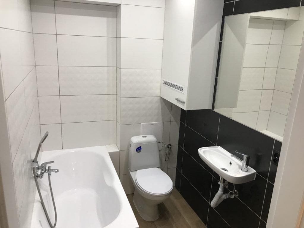 łazienka, nowe oblicze mieszkania, kawalerka